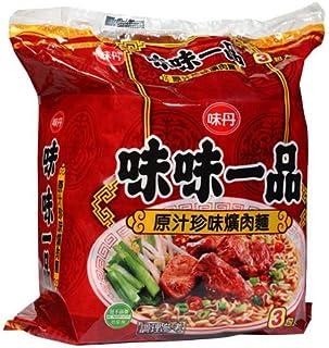 《味丹》 味味一品原汁珍味黄肉袋麺190g×3入(豚角煮ラーメン) 《台湾 お土産》 [並行輸入品]