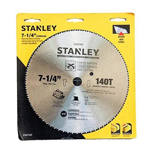 disco sierra circular para aluminio fabricante STANLEY