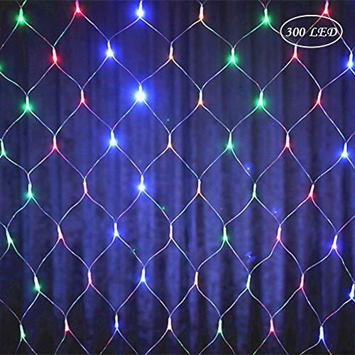 Preisvergleich Produktbild LED Lichterkette Stimmungslichter Wandleuchten mit Acht Mode Schalter für Party Dekoration,  Weihnachten,  Hochzeit