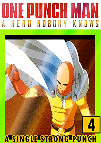 One Punch Single Strong Hero: Collection 4 Fantasy Adventure Funny Graphic Novel Manga Shonen Action For Teens, Children Adults Kids (English Edition)