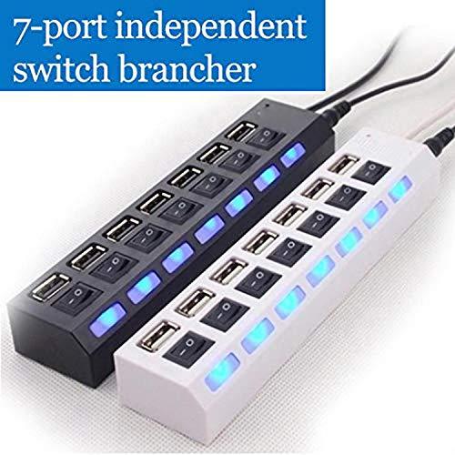 Adattatore con 7 porte USB