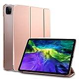 MS factory iPad Pro 11 2020 ケース カバー Pro11 第2世代 Apple Pencil ワイヤレス充電 対応 アイパッド プロ 11インチ ipadpro スマートカバー オートスリープ 全6色 ローズゴールド IPDP11/2-SMART-RSGD