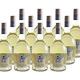 Côtes de Gascogne Villa Club Nacré - Sec Blanc - Villa Dria - Vin IGP Blanc du Sud-Ouest - Lot de 12x75cl - Cépages Colombard, Ugni Blanc