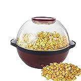 Máquina para hacer palomitas en casa, 5 l, antiadherente, eficiente, silenciosa, juego de palomitas de maíz, vaso medidor