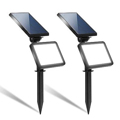 LOHAS Solar Garden Lights Outdoor Dusk to Dawn,...