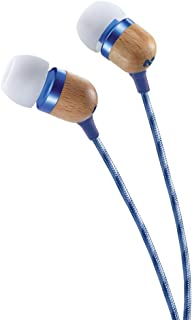 House Of Marley, Smile Jamaica Wired in-Ear Headphones - in-line Microphone with 1-Button Remote, Noise Isolating, Durable...
