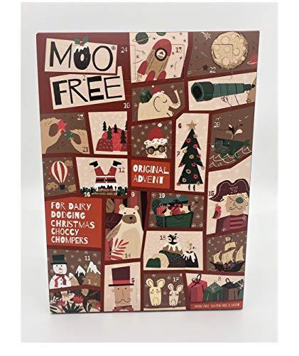 Calendrier de l'avent bio gratuit Moo Free Dairy
