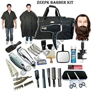 Complete Cosmetology Student Barber Kit for Hair Styling, Barbering School #3