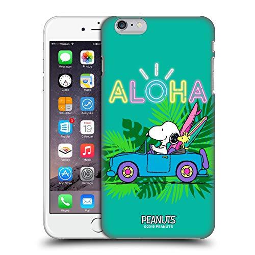 Head Case Designs Ufficiale Peanuts Surf Tropicale Snoopy Aloha Disco Cover Dura per Parte Posteriore Compatibile con Apple iPhone 6 Plus/iPhone 6s Plus