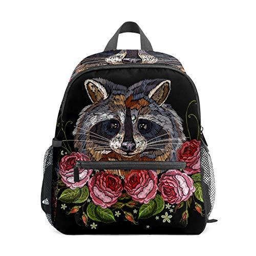 School Backpack for Kid Girls Boys,Student Bookbag Casual Daypack Travel Children Bag Organizer for Camping Hiking Gift Fox