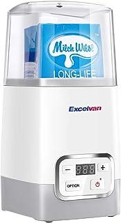 Excelvan ヨーグルトメーカー 発酵食メーカー 温度調整可能 牛乳パック対応 1L容器付き カスピ海ヨーグルト 甘酒 麹 納豆メーカー 発酵食 操作簡単 家庭用 多機能 新型