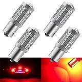 4 pz rosso 1156 BAU15S PY21W 5630 33SMD lampadine LED auto 900LM Super Bright luce freno luci posteriori fendinebbia posizione luce di posizione luce di parcheggio 12-30 v 3.6 w