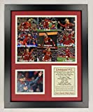 Legends Never Die 'Liverpool FC | 2019-2020 English Premier League EPL Champs | 12x15 Framed Double Matted Photos (Collage 12''x15'')'