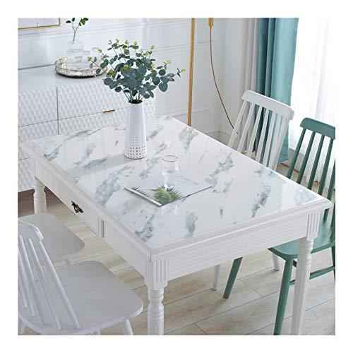 NINGWXQ PVC Tafelbeschermer Waterbestendig Afwasbaar Eetkamertafelkleed Hitte Bestendig Plastic Tafelkleed Tafelkleed Mat, 4 Patronen, Aanpasbaar (Color : B, Size : 85x135cm)