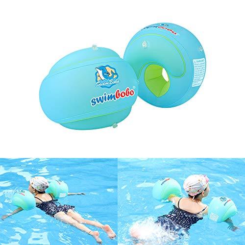 Schwimmflügel Erwachsene,Baby-Schwimmring Kinderschwimm Arm Ring Erwachsener Schwimmring Arm Ring Verdickt Aufblasbare Hülsen,S