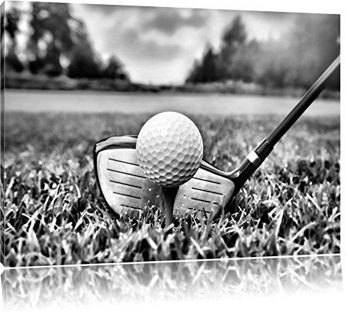 Golf Abschlag Format:120x80 auf Leinwand