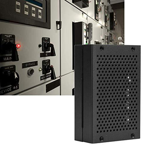 Mothinessto Caja de aleación de Metal Micro HDMI de 9,5 x 6 x 3 cm para Raspberry Pi 4(Black, Without Fan)