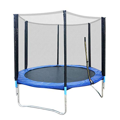 WBXZAL Trampoline Outdoor with Safety Net and Ladder Jumping Mat Diameter Ø183CM, Garden Safety Trampoline Complete Set of Products, Children Trampoline Garden Trampoline