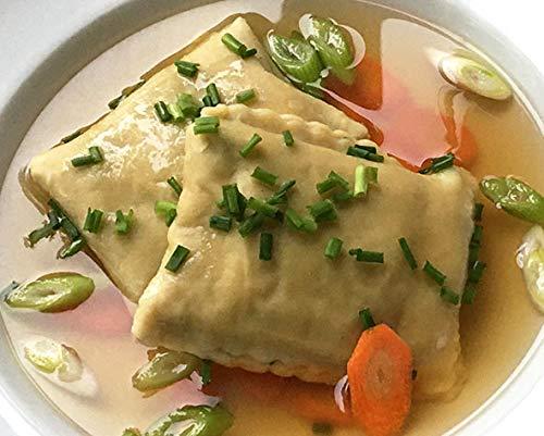 Leckere vegetarische Maultaschen (fleischlos), 10 Stück, 550 g