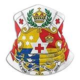 Bandana Neck Gaiter Coat Of Arms Of Tonga Cycling Balaclava Face Scarf Mask For Man Women