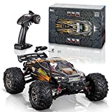 Torxxer 1:16 Scale Brushless RC Truck - High Speed Hobby Grade RC Car, Hits 33 Miles Per Hour - Off Road 4WD for Grip on Any Terrain - Ready to Run Waterproof Trophy Truck (Orange)