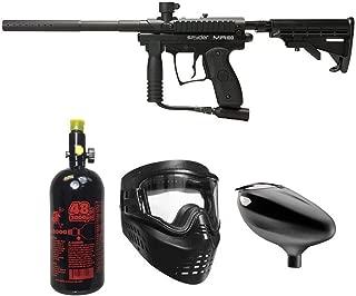 MAddog Spyder MR100 Pro Beginner HPA Paintball Gun Package - Black