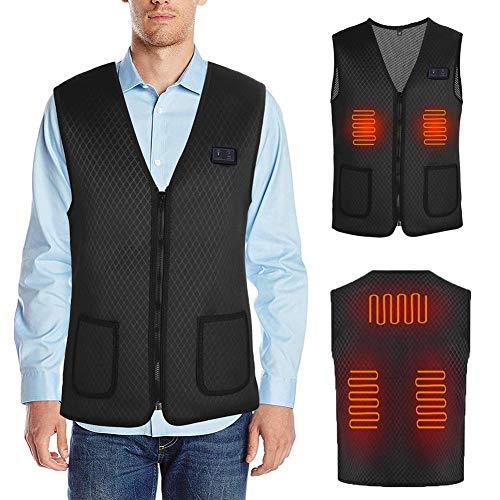 Weier. Ben Elektrische verwarming vest met USB opladen verstelbare thermische vest voor outdoor camping wandelen golf verwarming pak