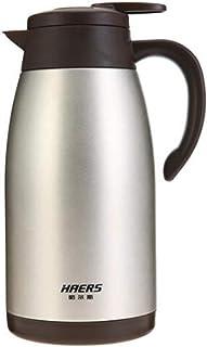 やかん、ステンレスの断熱鍋、家庭用魔法瓶、やかん、2.0L断熱湯沸かし器、コーヒーの断熱鍋、銀 (Capacity : 2.0L, Color : Silver)