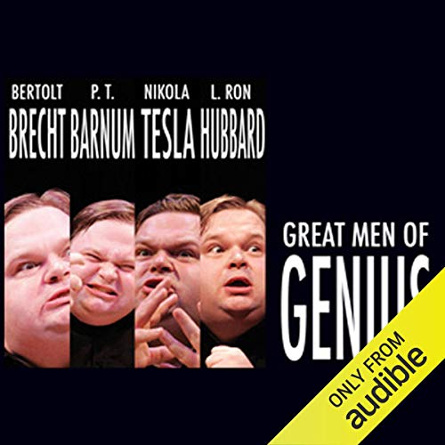 Great Men of Genius Series cover art