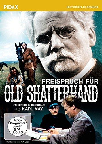 Freispruch für Old Shatterhand / Spielfilm über Karl May mit Friedrich G. Beckhaus (Pidax Historien-Klassiker)