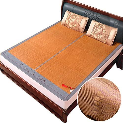 NCHEOI Copa de enfriamiento Colchón de Cama Colchón de Verano Estera para Dormir Confortable Lisse Respirant Doupture De Lit Tapis de Pique-Nique (Size : 150X195CM)