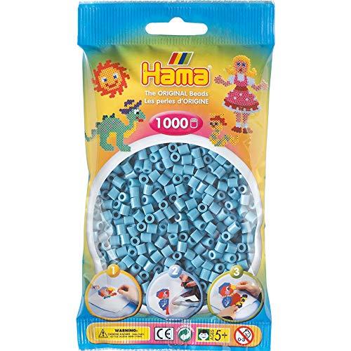 Hama 207-31 perły do prasowania 1000 artykułów biurowych, turkus