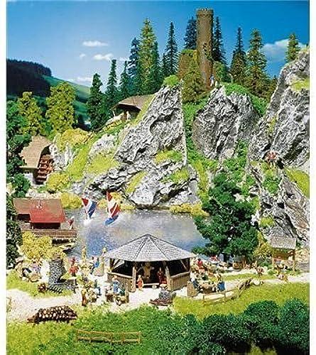 Los mejores precios y los estilos más frescos. Faller 180575 Barbecue Site - Hut Benches Tables Tables Tables & More by Faller  garantizado