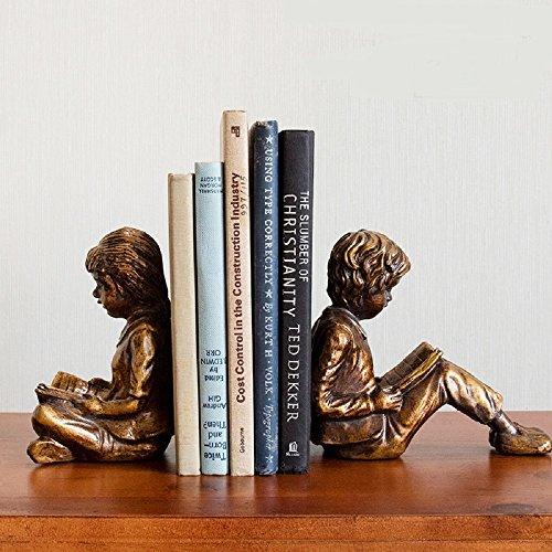 QARYYQ 1 paar creatieve jongens en meisjes boekingssieraden huisdecoratie woonkamer tv-kast Scandinavische meubels bevat geen boeken ambachten