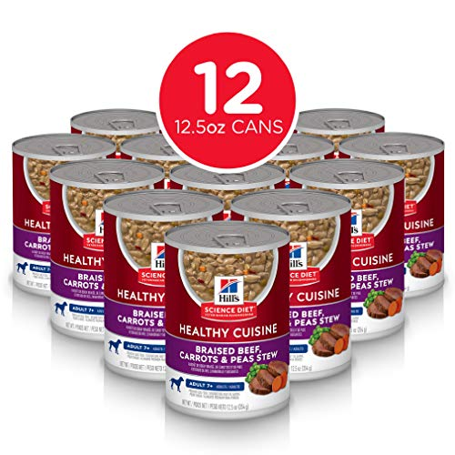 Hill's Science Diet Canned Dog Food, Adult 7+,...