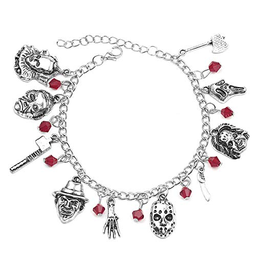 AMOYER Halloween Armband Classic Horror Story Filme Cospaly Charm Bracelets Fans Schmuck Für Unisex
