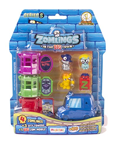 Zomlings - Serie 5 Blíster (Magic Box Int Toys P00907) FIGURAS Y COLORES SURTIDOS