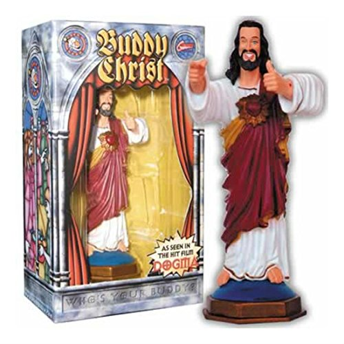 Unbranded Buddy Christ Dashboard Figure Dogma Kevin Smith Movie Christmas Wink Statue - US Seller