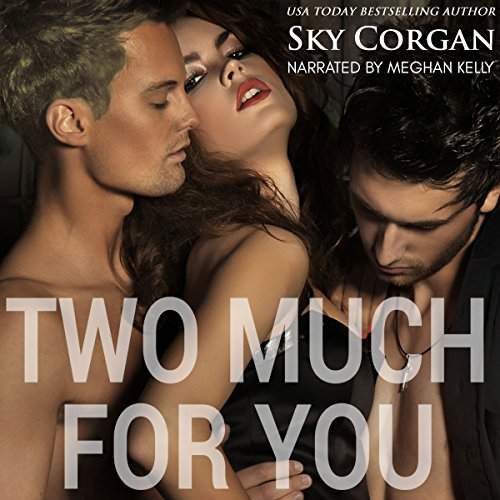 Two Much for You audiobook cover art
