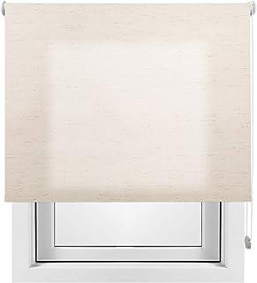 comprar comparacion Estor Enrollable Lino Premium Metal (Desde 40 hasta 260cm de Ancho) translúcido (Permite Paso de luz/no Permite Ver el Ext...