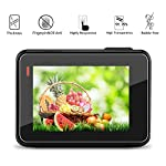 [6 Pack] Tempered-Glass Screen Protector for GoPro Hero 7 (Black Only) / Hero 5 Black Hero 6 Black (2-Pack) & Lens… 9 Designed for Gopro Hero 5/6 Black. Precise laser cut designed specifically to offer max body coverage. Greatest protection: Extremely high hardness,resists scratches up to 9H Tempered Glass with long lasting protection. 99.99% HD Clarity and Touchscreen Accuracy: High-response, high-transparency.