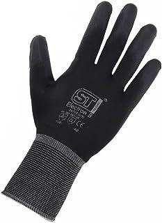 12pares guantes de trabajo con revestimiento de
