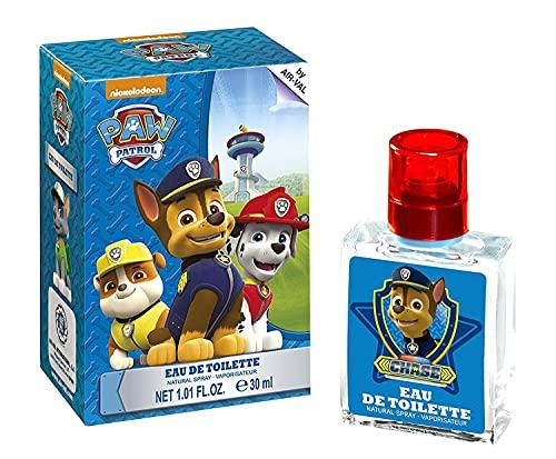 Paw Patrol Eau de ToiletteNatural Spray- Parfüm im schönen Glasflakon mit Chase Motiv (30ml)