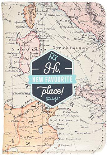 Funda de pasaporte - Hi, new favourite place! (ENG)
