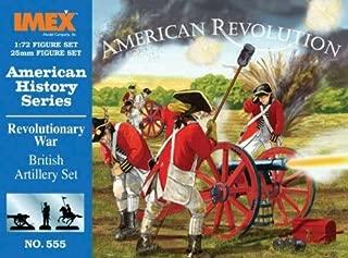 Imex 1/72IMEX555American History: Revolution, British Artiller Plastic Model Kit
