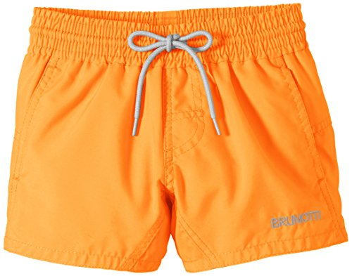 Brunotti Jungen Badeshorts Crunotos, Neon Orange, 152
