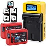 Baxxtar PRO compatible avec batterie Sony NP-BX1 1090mAh r/éel Nouvelle g/én/ération 100 pourcent compatible