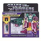 Transformers 2021 Modern Figure in Retro Packaging Decepticon Headmaster Skullcruncher with Grax