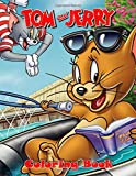 Tom and Jerry Coloring Book: Coloring Books For Kids and Adult,Coloring Book with Fun, Easy, and Relaxing Coloring Pages, coloring books for children, 50+ coloring pages