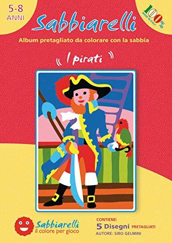 Libro de dibujos con piratas para pintar.